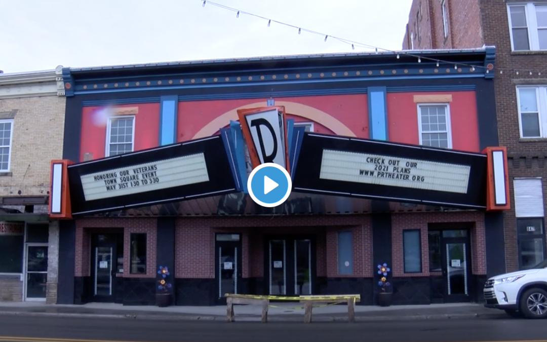 WVVA News – Renaissance Theater marquee damaged in truck accident