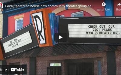 WOAY News -Local theater to house new community theater group and Bob Denver museum